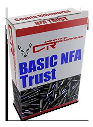 Coyote Rifleworks Basic NFA Trust